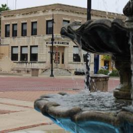 View of Baldwin City Hall Building