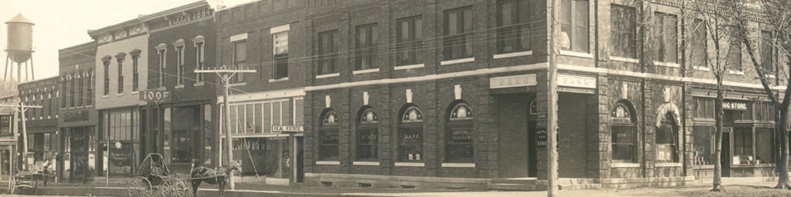 8th and High photo circa early 1900s